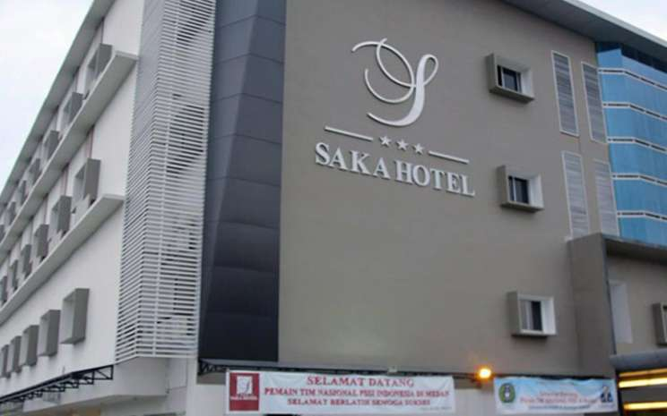 Hotel Saka Medan. Hotel yang memiliki kapasitas 108 kamar ini adalah satu dari tiga hotel yang dimiliki oleh PT Intikeramik Alamasri Industri Tbk (IKAI). - Intikeramik