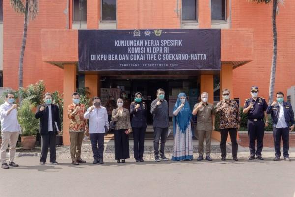 Komisi XI DPR-RI Beri Apresiasi Pelayanan Bea Cukai Soekarno Hatta di Masa Pandemi