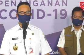 Bila PSBB Tak Diperpanjang, Anies: Kasus Aktif Covid-19…