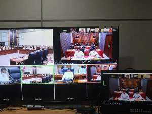 Jaksa Agung ST Burhannuddin Raker Dengan Komisi III DPR Secara Virtual