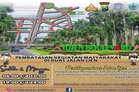 Cegah Persebaran Covid, Jalan Ijen Kota Malang Ditutup…