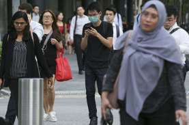 Populasi Singapura Turun Pertama Kali Sejak 2003