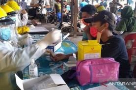 Rapid Test di Pasar Tradisional Melati Medan, Ini…