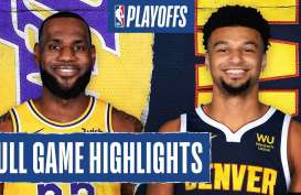 Hasil Play-off Basket NBA : LA Lakers di Ambang Kemenangan vs Nuggets
