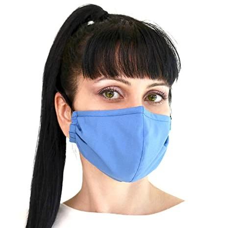 Ilustrasi masker kain