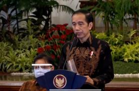 Jokowi: Tingkat Kesembuhan Covid-19 di Indonesia 73,5…