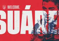 Luis Suarez membela Atletico Madrid./en.atleticodemadrid.com