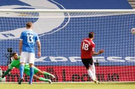 Super Dramatis, MU Taklukkan Brighton dengan Gol Bersejarah