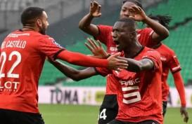 Hasil Liga Prancis : Marseille Tertahan, Rennais Pimpin Klasemen