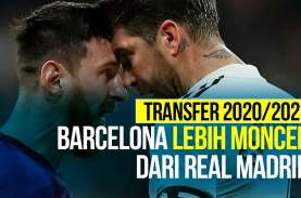 Belanja Real Madrid vs Barcelona Musim 2020/2021