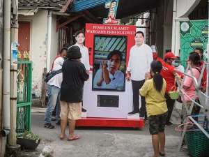 Calon Wali Kota Solo Gibran Rakabuming Gelar Blusukan Secara Virtual