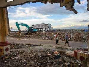 Duah Tahun Pascabencana Gempa di Palu, Sejumlah korban Maish Tinggal Hunian Yang Dibangun Yayasan Buddha Tzu Chi