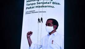 Presiden Joko Widodo Meminta Warga Disiplin dan Kerja Keras Untuk Menghadapi Pandemi Covid-19