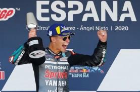 Juara di GP Catalunya, Quartararo Gusur Dovi dari…