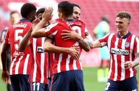 Main 25 Menit, Luis Suarez Cetak 2 Gol, Atletico Madrid…