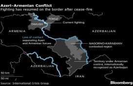 Perang Armenia-Azerbaijan Kembali Meletus, Sedikitnya 23 Orang Tewas
