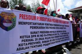 Gubernur Papua Barat Dukung Pemekaran Papua Barat…