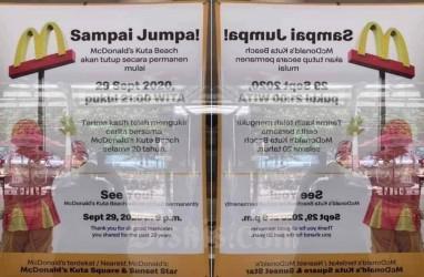 McDonald's Kuta Tutup mulai Selasa, Satpol PP Antisipasi Kerumunan