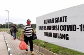 Hari Ini, RSKI Pulau Galang Rawat 324 Pasien Covid-19