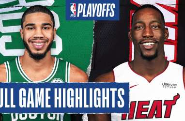 Libas Celtics, Miami Heat Tantang LA Lakers di Final Basket NBA