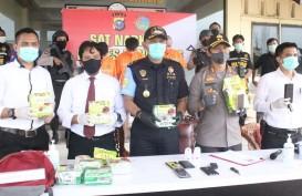 Bea Cukai dan Kepolisian Bengkalis Gagalkan Penyelundupan 10 Kg Sabu dari Malaysia