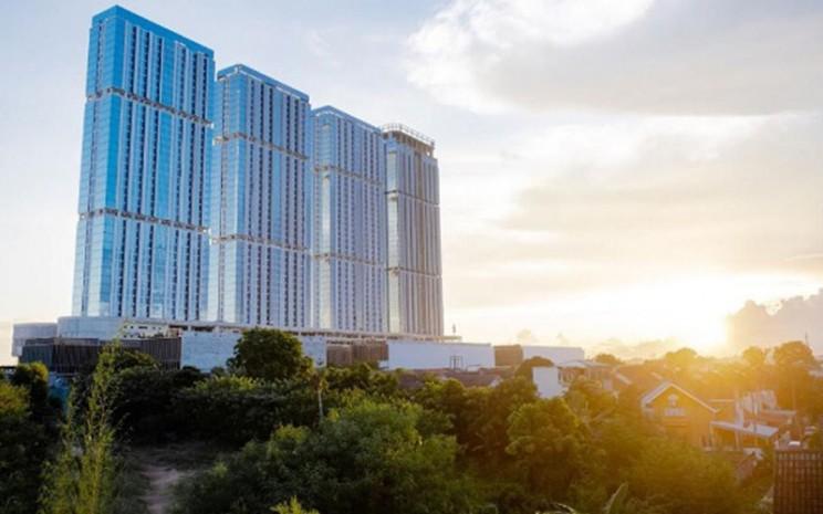 Proyek mega superblok Meisterstadt atau Pollux Habibie di Batam Centre, Batam, Kepulauan Riau. - Istimewa