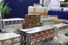 Jutaan Batang Rokok Ilegal Diamankan Bea Cukai, Ada…