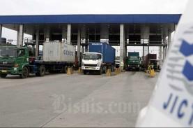 Truk Logistik Kembali Lesu saat PSBB Jakarta Jilid…
