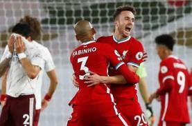 Hasil Liga Inggris : Liverpool Sikat Arsenal, Villa…