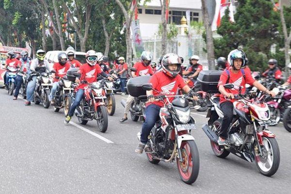 Ilustrasi Honda Bikers - Honda Community
