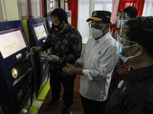 BPJT Luncurkan Mesin E-Ticketing Terminal Tipe A
