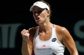 Hasil Tenis Prancis : Zhang Buat Kejutan, Muguruza…