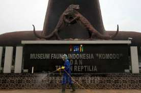 Dampak PSBB Jakarta, Seniman: TMII Sekarang Seperti…