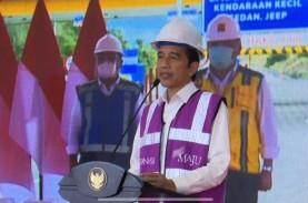 Jokowi: Tol Manado-Bitung Akan Menarik Banyak Investor