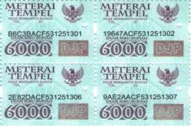 Tok! DPR Setujui Kenaikan Bea Materai Jadi Rp10.000