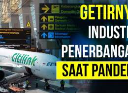 Mayday !!! Industri Penerbangan Paling Lambat Pulih?