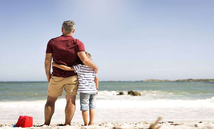 Ayah dan anak - Istimewa