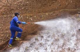 Musim Hujan Tiba, Pemkab Bandung Lakukan Polimerisasi di Tebing Rawan Longsor