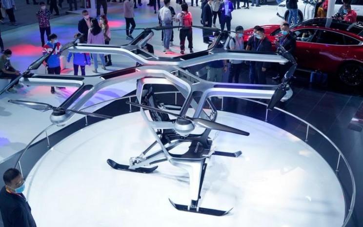 Kiwigogo buatan Xpeng Motors yang dipamerkan di Beijing Auto Show 2020. - Istimewa