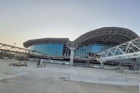 Progress Proyek Pengembangan Bandara Sultan Hasanuddin…