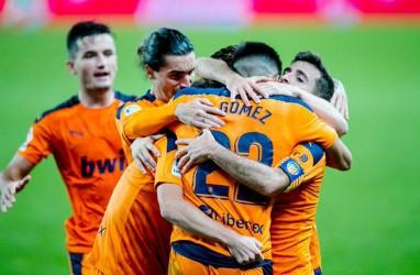 Menang Tandang vs Sociedad, Valencia Pimpin Klasemen La Liga