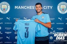 Ruben Dias Resmi Berseragam Manchester City, Dikontrak 6 Tahun