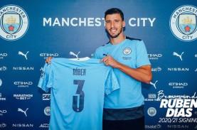 Ruben Dias Resmi Berseragam Manchester City, Dikontrak…