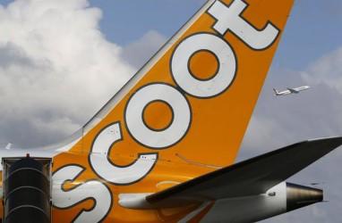 Scoot Layani Rute Yogyakarta-Singapura, Terbang 2 Minggu Sekali