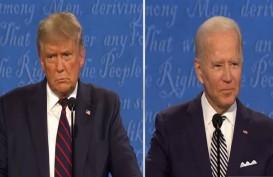 Terus Disela Trump di Debat Pilpres AS, Biden: 'Shut Up, Man!'
