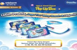 Uni-charm (UCID) Sebut Penjualan Tisu Basah Tumbuh Signifikan