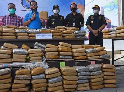 BNN Banten Berhasil Gagalkan Penyelundupan Ganja Seberat 301 Kilogram Dari Aceh