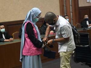 Jaksa Pinangki Sirna Malasari Kembali Jalani Sidang Atas Kasus Pembebasan Djoko Tjandra