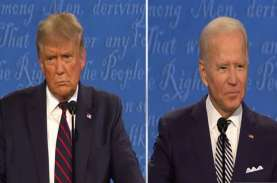Debat Capres AS, Biden Sindir Aksi Trump Kemplang…
