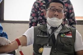 Darah Ridwan Kamil Diteliti Usai Disuntik Vaksin